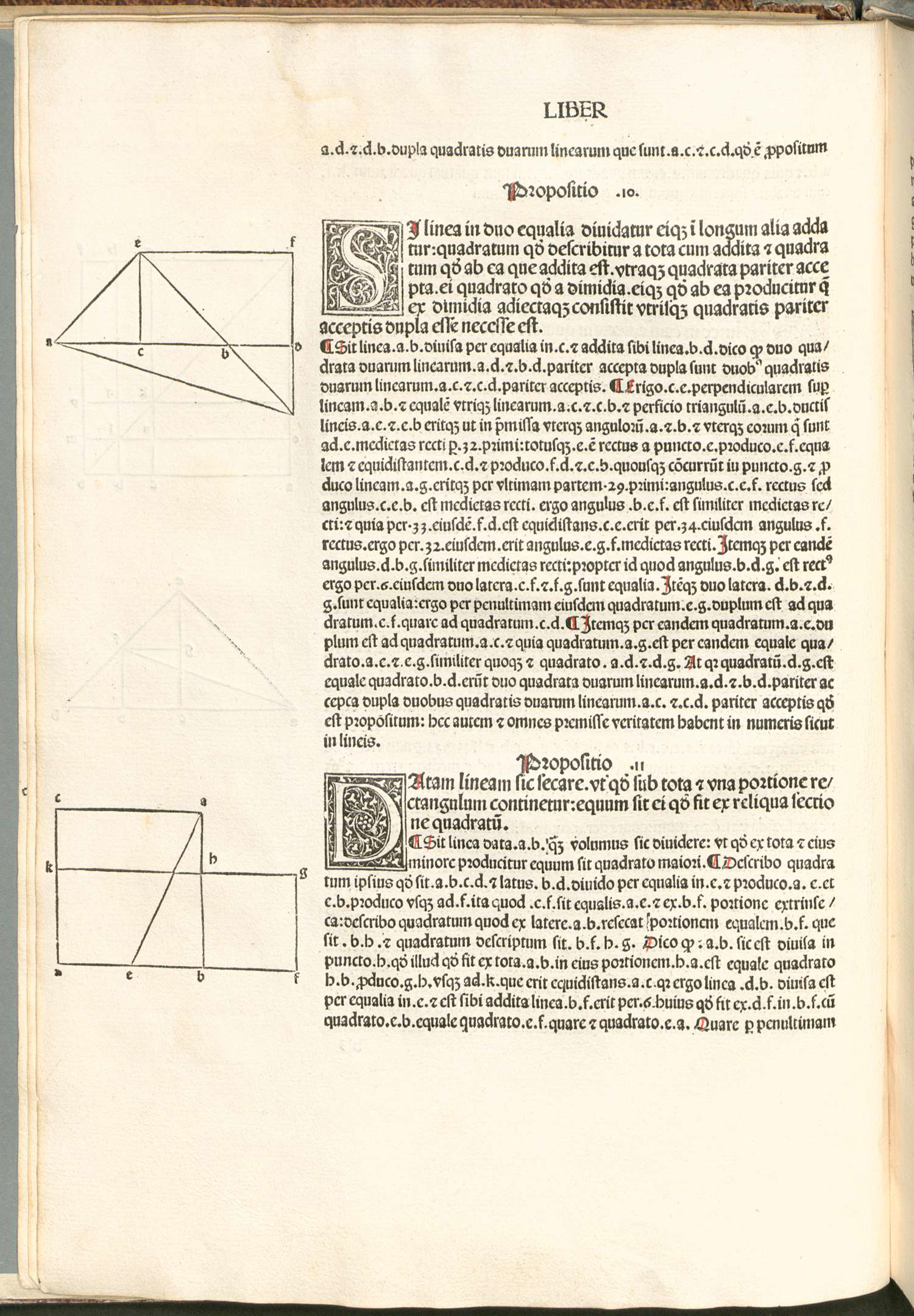 Detail of page from Euclid
