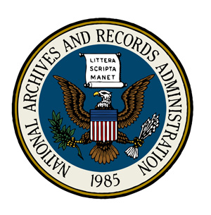 The National Archives seal
