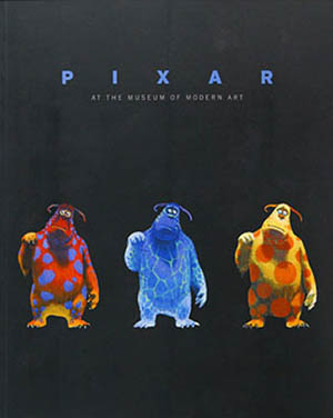 A poster for Pixar at the Moma