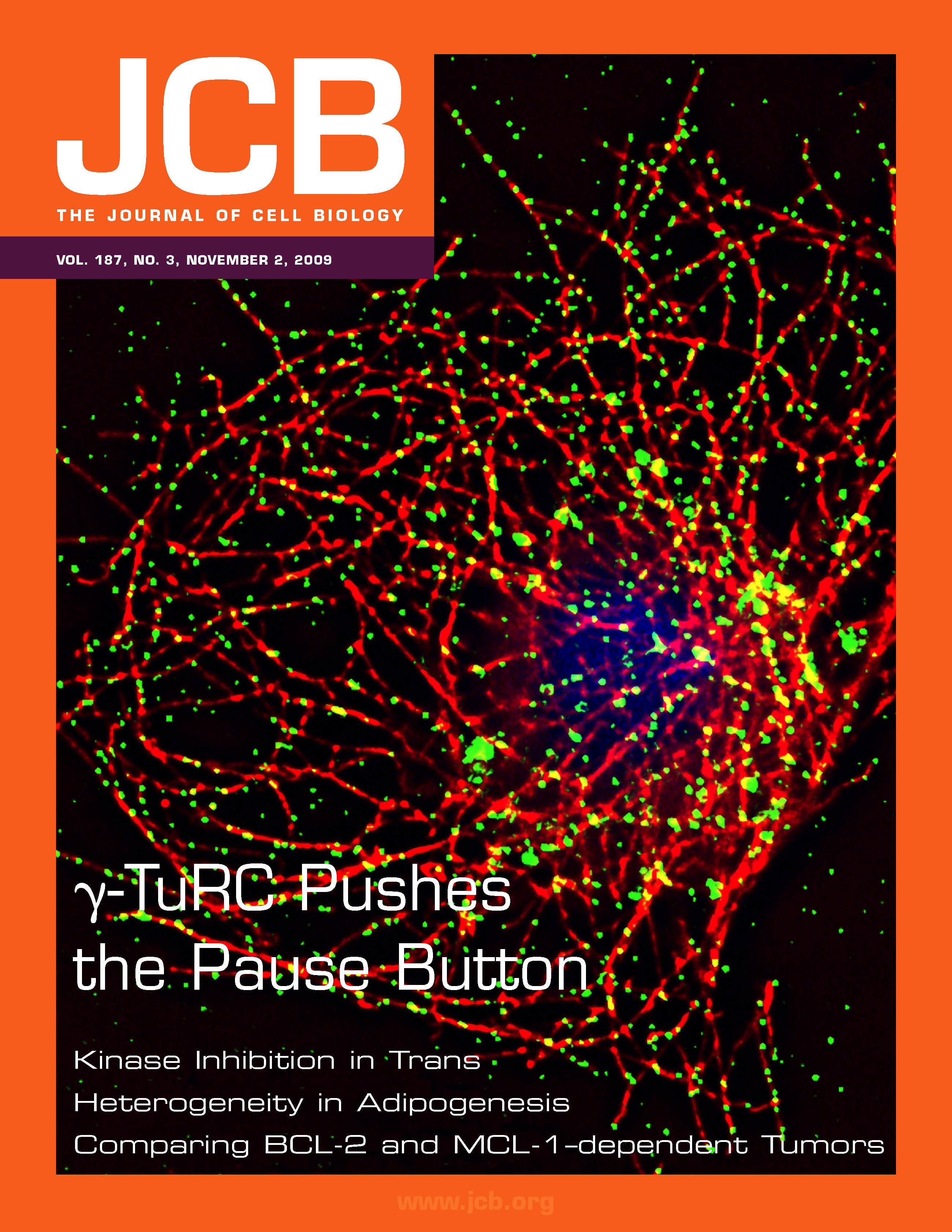 An issue of the Journal of Cell Biology