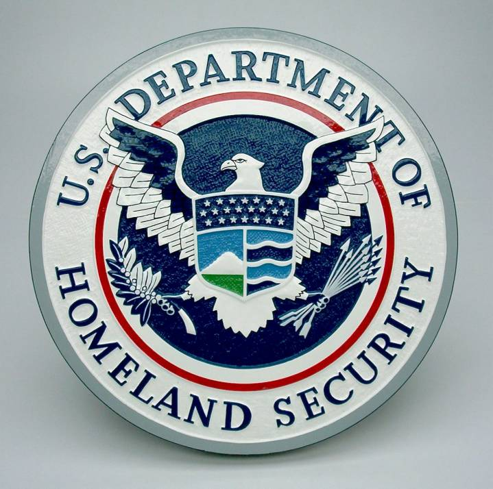 The Department of Homeland Security seal