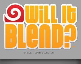 "The ""Will It Blend?"" campaign logo"