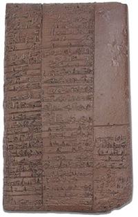 Sumerian medical tablet (2400 BC), ancient city of Nippur.  Lists 15 prescriptions used by a pharmacist.  Library of Ashurbanipal.