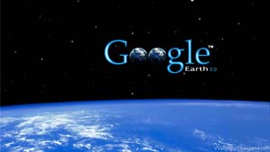 The Google Earth logo