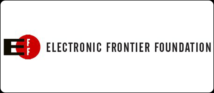 The Electronic Frontier Foundation logo