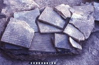 Ebla tablets in situ.