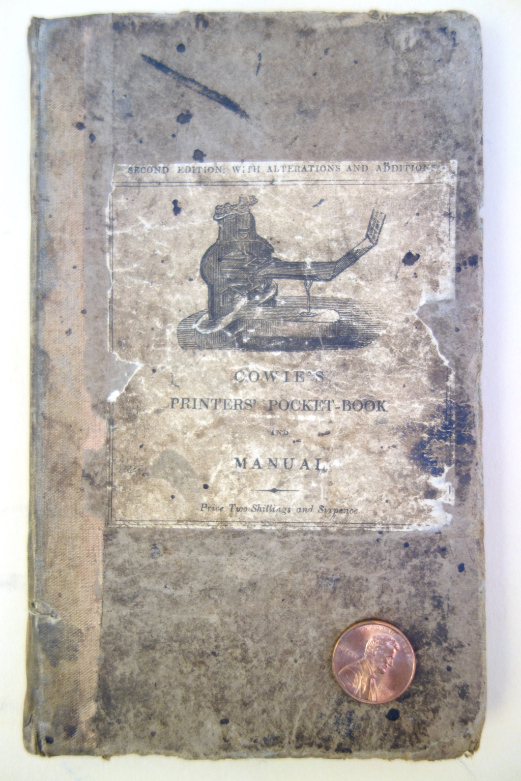 Cover of Cowie's Printers' Pocket Book
