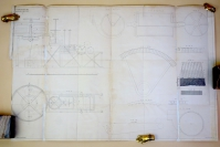 Dickinson papermaking patent drawing