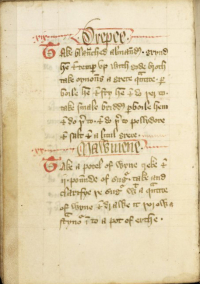 Forme of Cury MS 7 18v