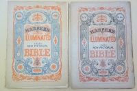 Harpers Illuminated New Pictorial Bible parts upper wrappers