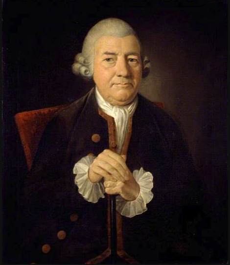 Portrait of John Baskerville by the English portrait painter James Millar. Courtesy of the collection of Birmingham Museum and Art Galleries.