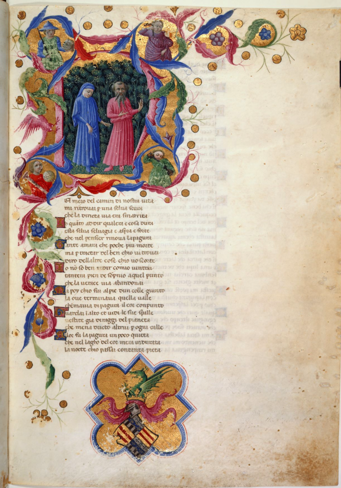 British Library Yates Thompson MS 36., Dante