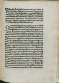 First page of the Rome, Stephan Plannck, printing after 29 April 1493 from Stadtbibliothek Koblenz.
