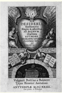 Title page of the first edition of Hermannus Hugo
