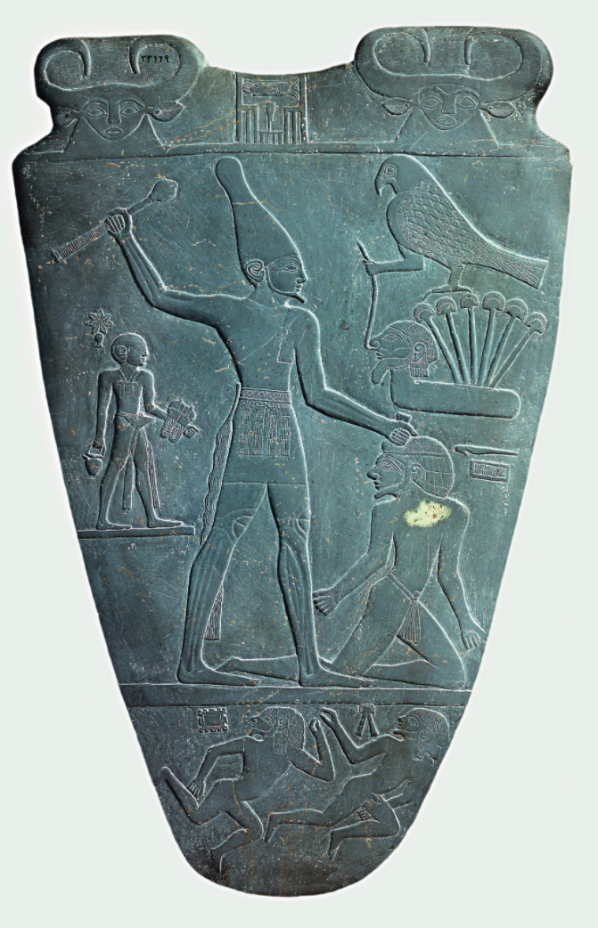 The Narmer Palette (recto).