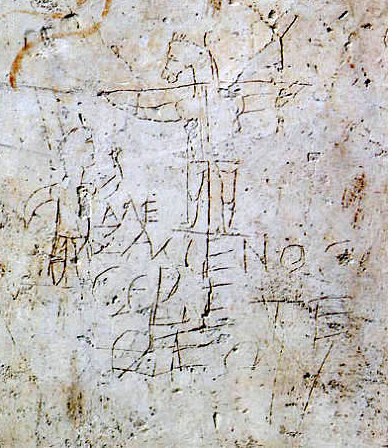 The Alexamenos Graffito.