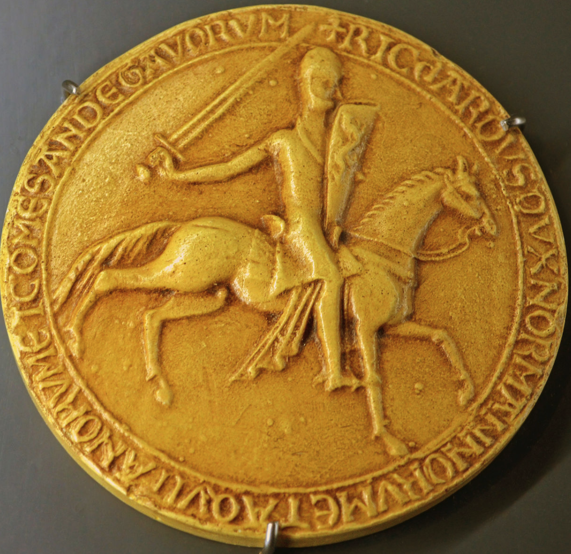 The great seal of Richard I.