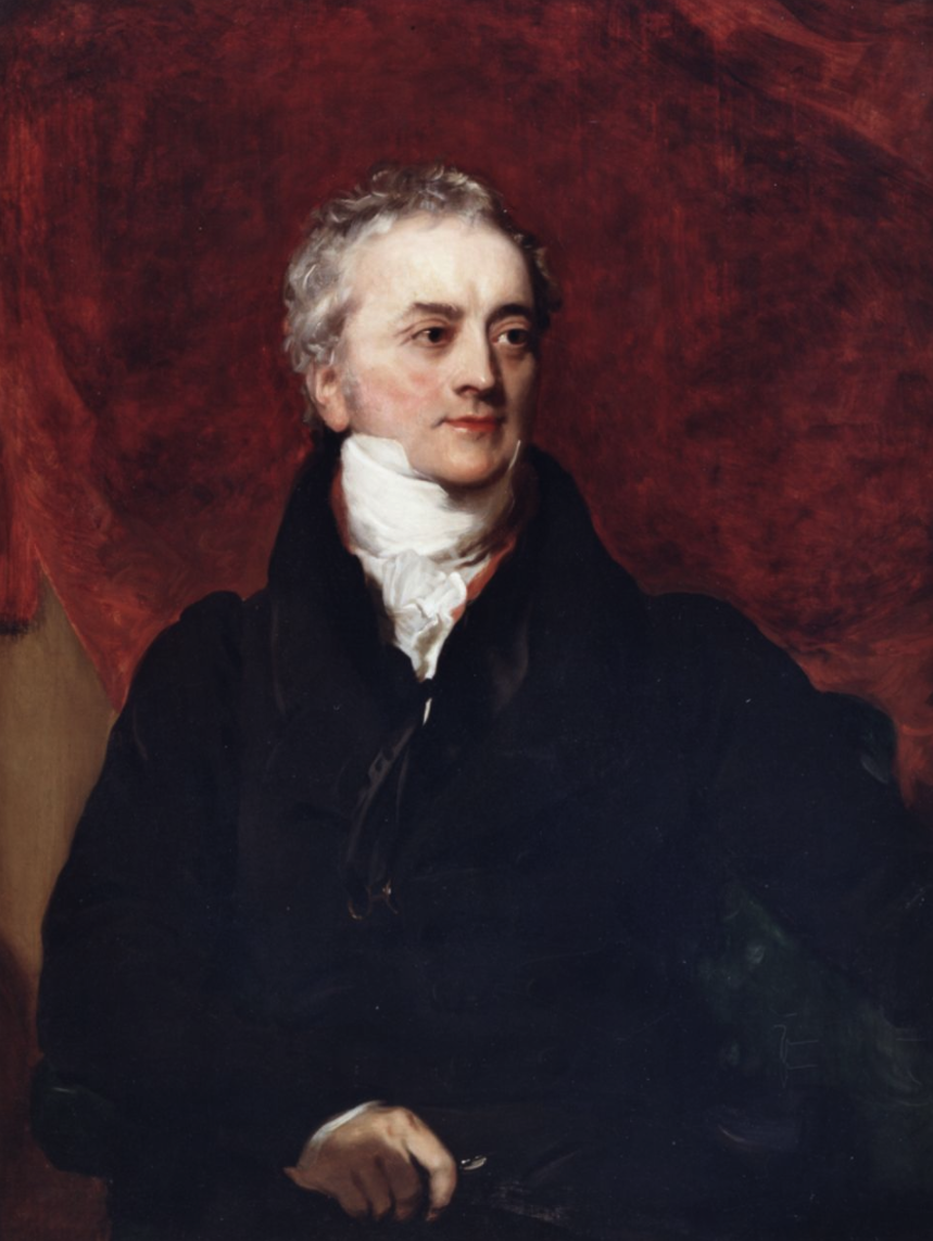 Copy of a portrait of Thomas Young (Thomas Lawrence) by Henry Briggs.