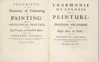Copy of the very rare Coloritto (1725) in the Bibliothèque nationale de France.