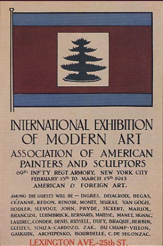 Poster for the Armory Show.