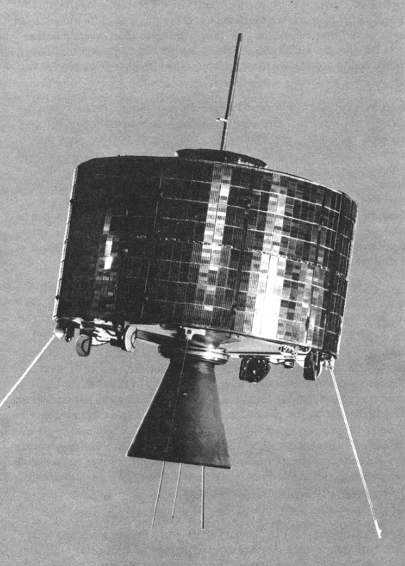 Syncom 2 geosynchronous communications satellite