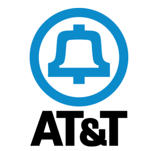 The final version of the AT&T Bell logo, designed by Saul Bass.