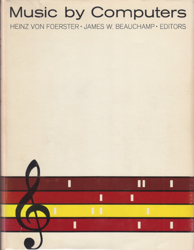 Dust Jacket of Foerster's Music by Computers