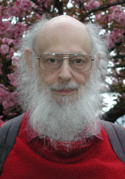 Ray Solomonoff at IDSIA. Photo by Juergen Schmidhuber.