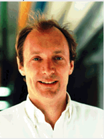 Tim Berners-Lee circa 1990.