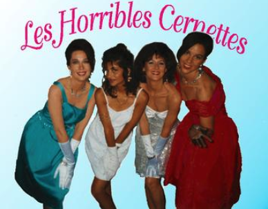 This picture of Les Horribles Cernettes was the first photographic image published on the World Wide Web in 1992
