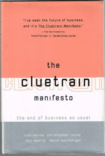 First printed edition of The Cluetrain Manifesto