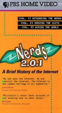 Cover of Nerds 2.0.1 PBS Home Video