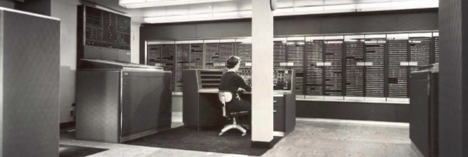NORC Supercomputer at Columbia University, 1954