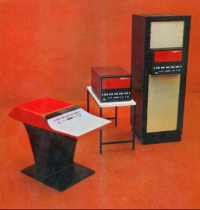 Cropped image from page of a promotional brochure for the Honeywell 316 minicomputer.