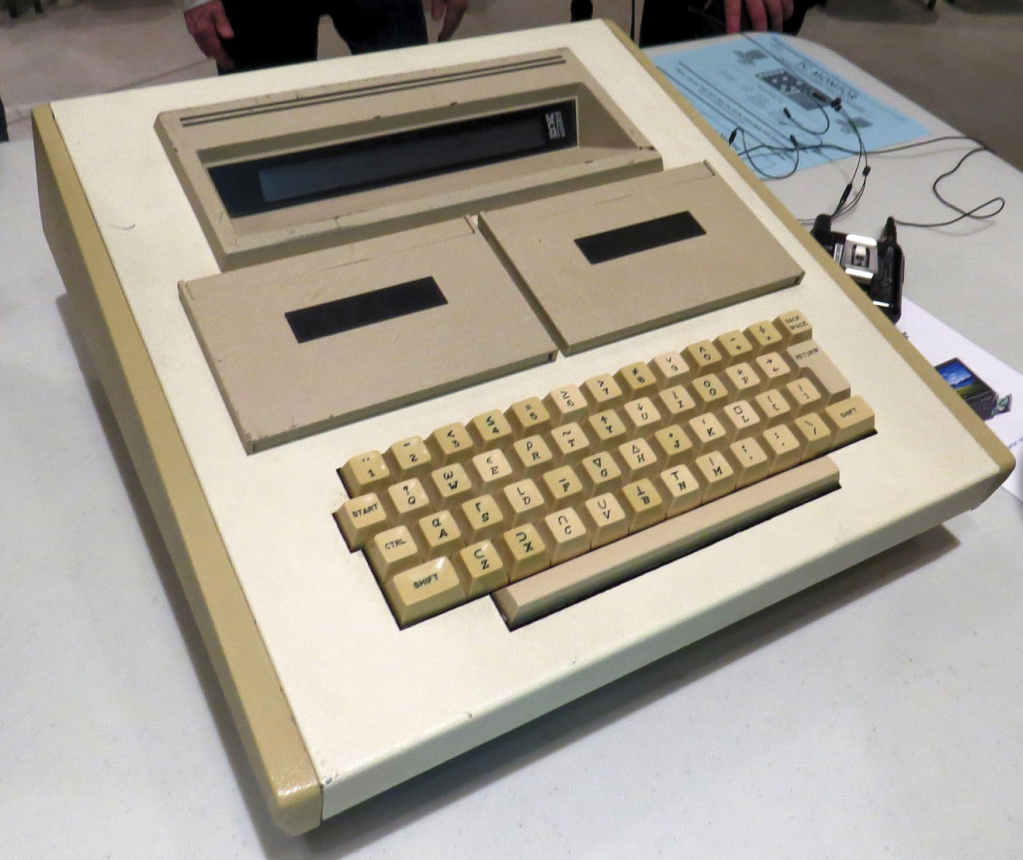 MCM Model 70 microcomputer, made by Micro Computer Machines, 1974