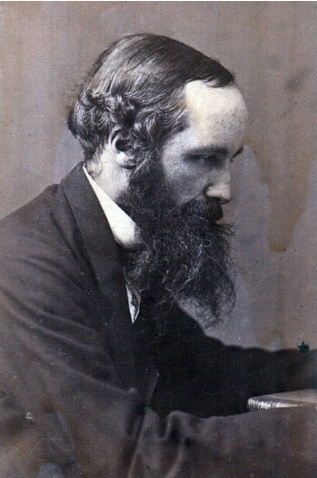 profile photograph of James Clerk Maxwell