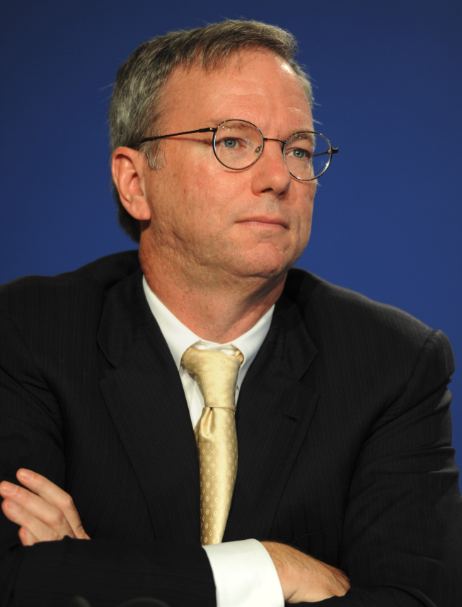 photo of Eric Schmidt