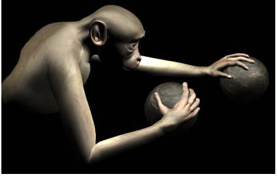 Large-scale brain activity from a rhesus monkey was decoded and used to simultaneously control reaching movements of both arms of a virtual monkey avatar towards spherical objects in virtual