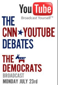 CNN/ YouTube Debates logo