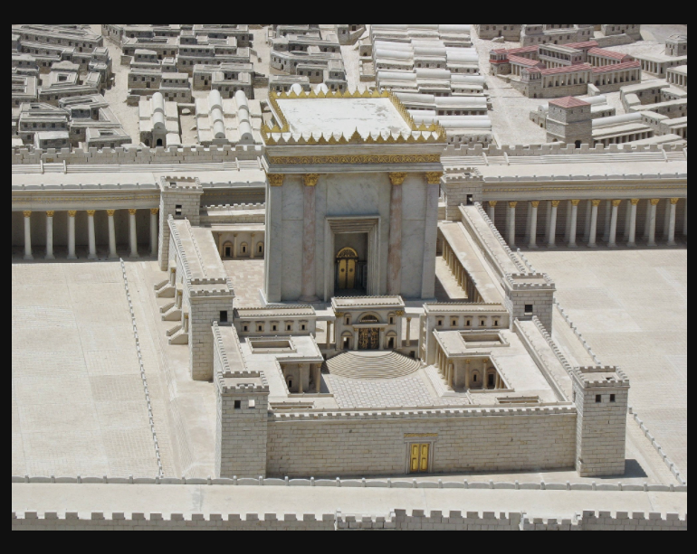 Model of the Second Jewish Temple in the Israel Museum