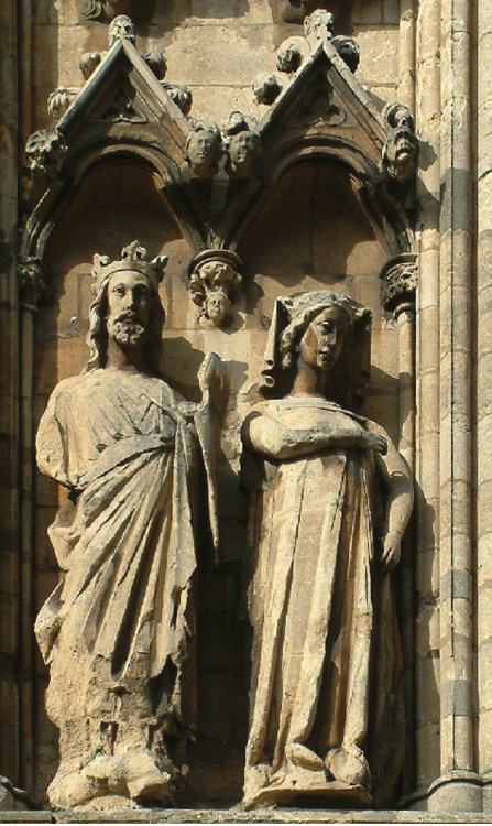 Sculpture of Edward I (Longshanks)