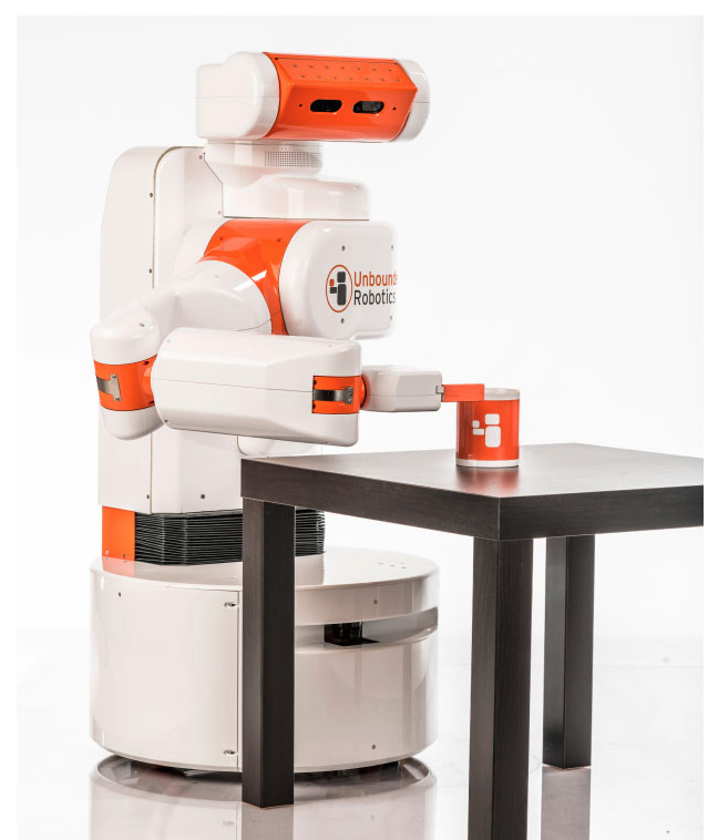 photograph of the UBR-1 robot