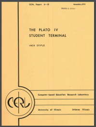 Cover of Stifle, The Plato IV Student Terminal (1974)