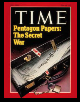 Time Magazine cover: Pentagon Papers: The Secret War