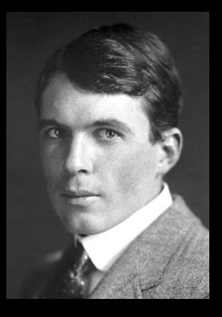 photograph of Lawrence Bragg in 1915