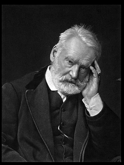 Photogravure of Victor Hugo by Comte Stanisław Julian Ostroróg