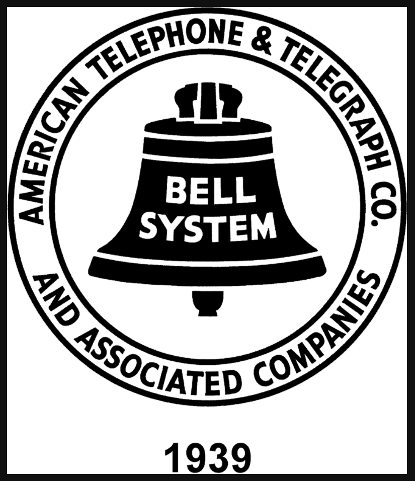 Bell System logo used from 1939 to 1964