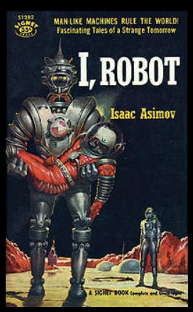 Cover of Asimov's I, Robot