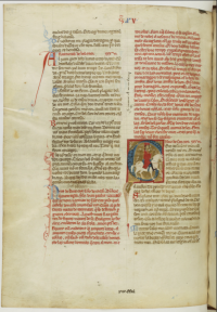 Folio 127 verso from Bibliothèque nationale, MS cod. fr. 854.