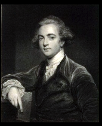 Engraved portrait of Sir William Jones after a painting by Sir Joshua Reynolds.